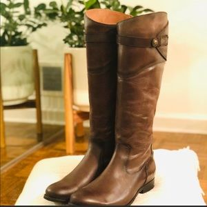 🌵Frye Molly Button Premium Leather Riding Boots